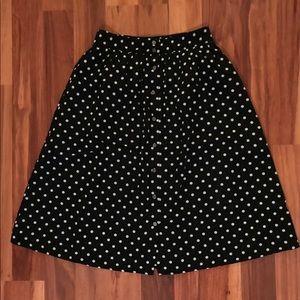 FOREVER21 Polka Dot Skirt